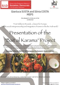 Bait al Karama_Invitation-Brussels-5-March
